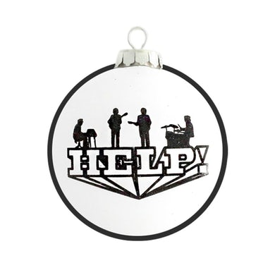 The Beatles Help! Round Ornament