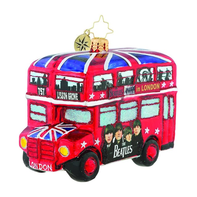 The Beatles The British Invasion Ornament