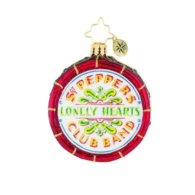 The Beatles Drum Roll, Please! Ornament