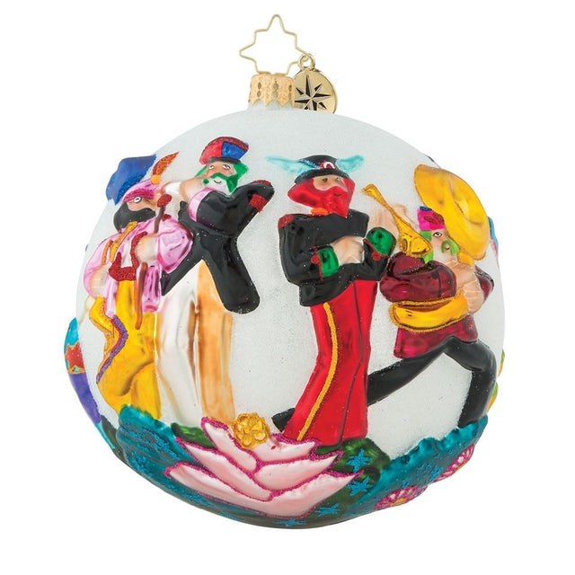 The Beatles Strike Up The Band Ornament