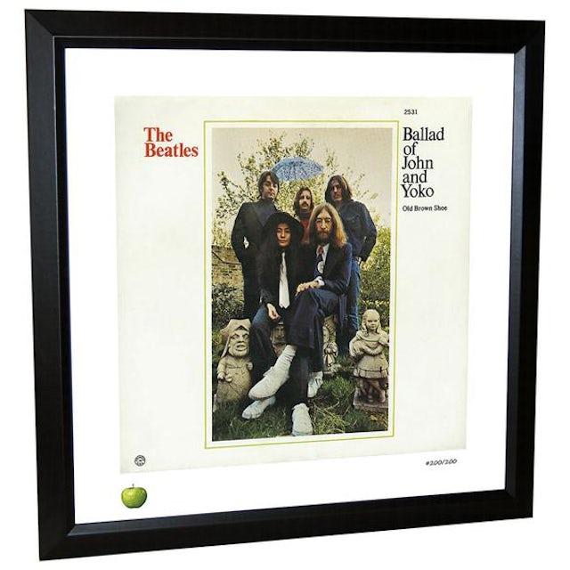 The Beatles Ballad of John & Yoko Limited Edition Framed Lithograph