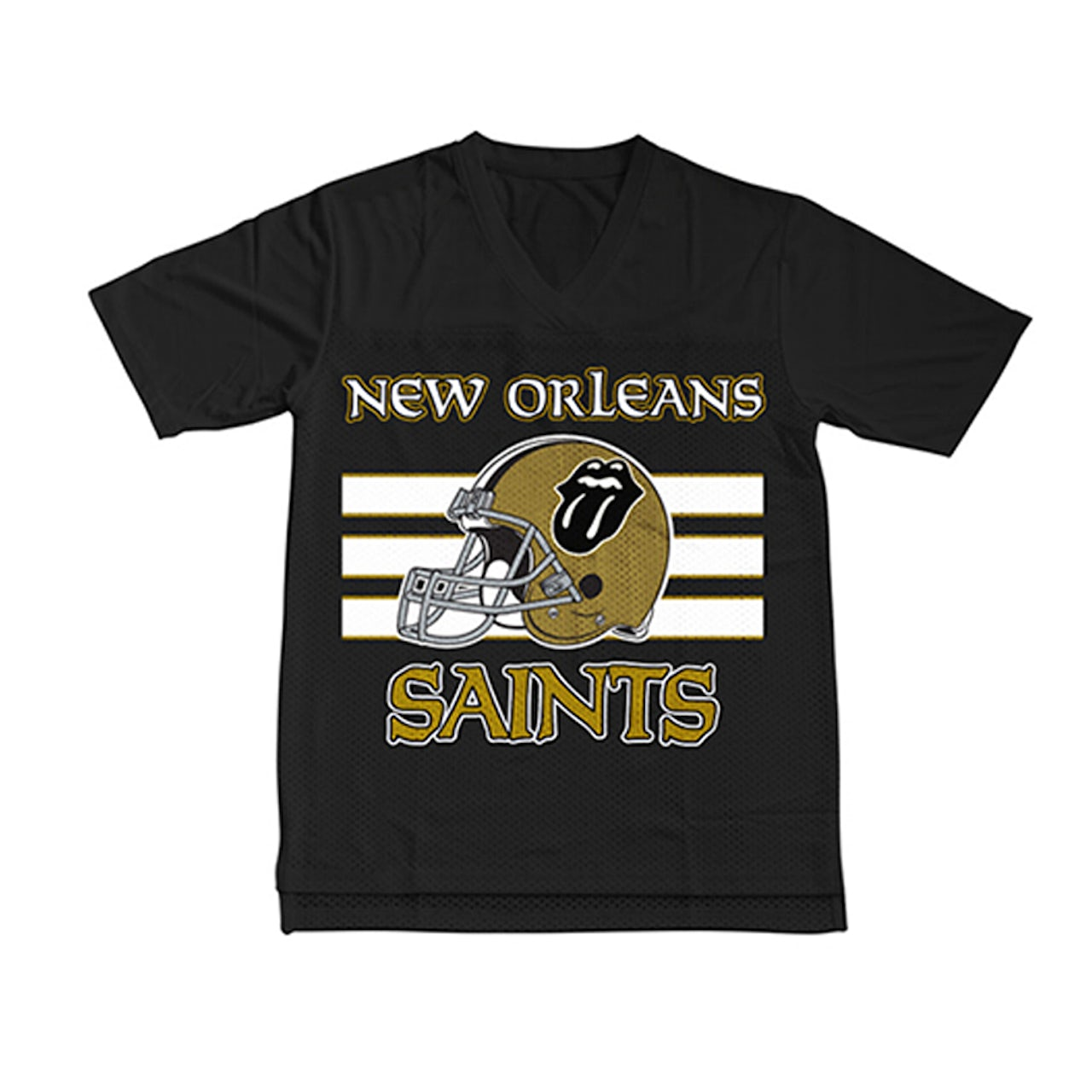quality design 28e77 cdd6c The Rolling Stones New Orleans Saints Fashion Jersey