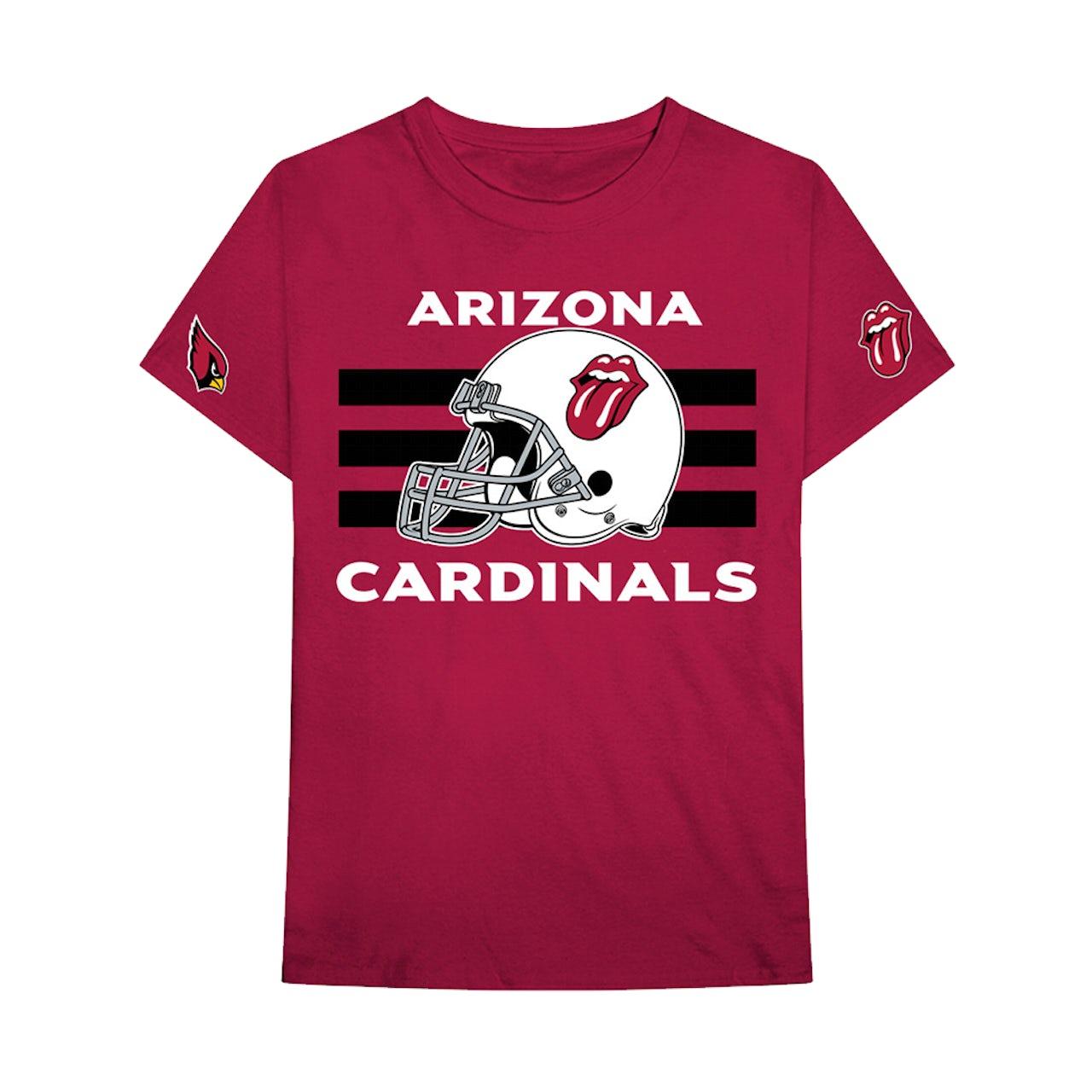 size 40 a3c38 51d53 The Rolling Stones Arizona Cardinals T-Shirt