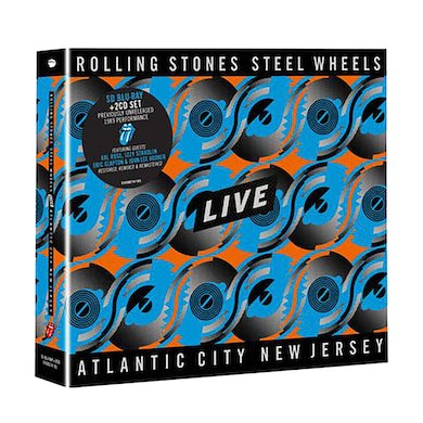 The Rolling Stones Steel Wheels Live Blu-Ray & 2CD