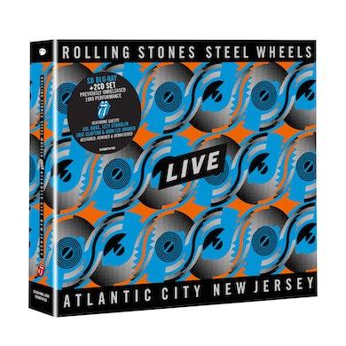 The Rolling Stones Steel Wheels Live Blu-Ray & 2CD
