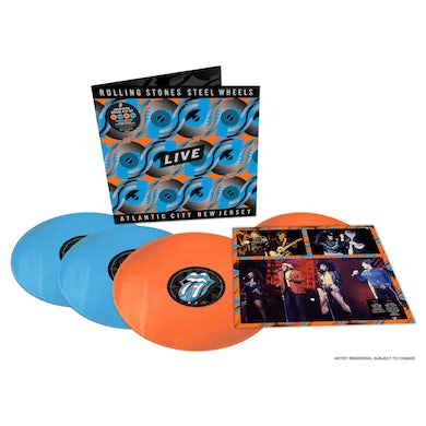 The Rolling Stones Steel Wheels Live 4LP Limited Edition (Vinyl)