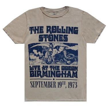 The Rolling Stones Vintage Birmingham '73 Tour T-Shirt