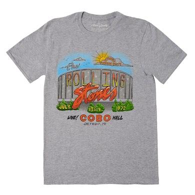 The Rolling Stones Detroit '72 Tour T-Shirt