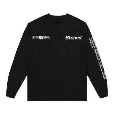 No Filter USA 2021 Black Long Sleeve Shirt