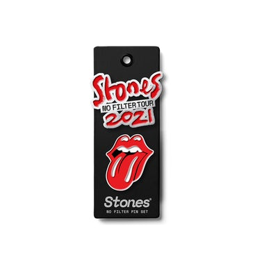 The Rolling Stones No Filter 2021 Pin Set
