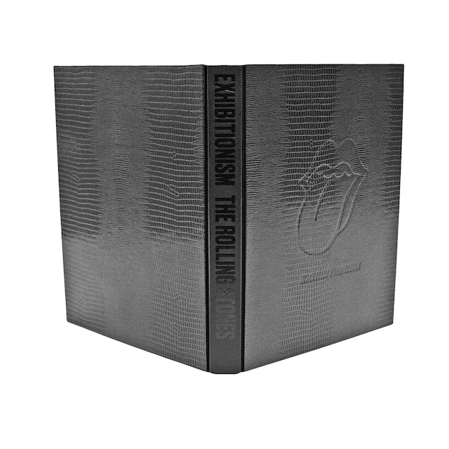 The Rolling Stones Exhibitionism Leather Bound Book