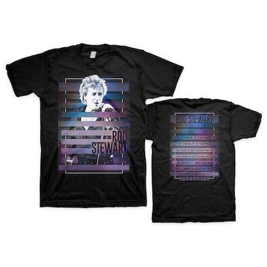 Rod Stewart Stripes T-shirt