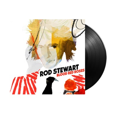 Rod Stewart Blood Red Roses - 2LP (Vinyl)