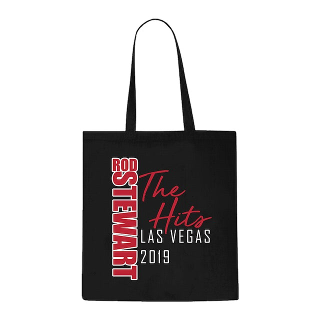 Rod Stewart The Hits Text Tote Bag