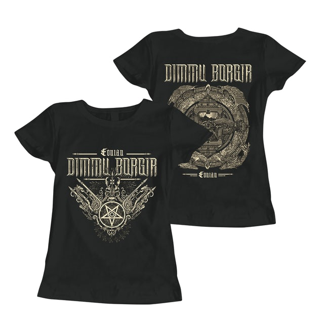 Dimmu Borgir Eonian Ornaments Ladies T-Shirt