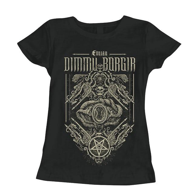 Dimmu Borgir Eonian Snakes Ornament Ladies T-Shirt