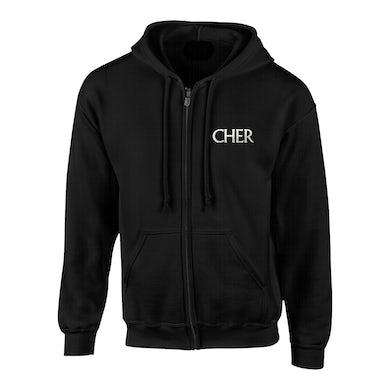 Cher Classic Glitter Maryland Show Hoodie