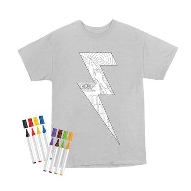 The Killers Lightning Bolt T-shirt