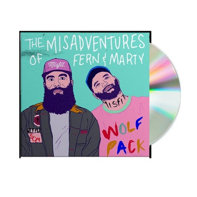 Social Club Misfits The Misadventures Of Fern & Marty Physical CD
