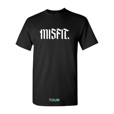 Social Club Misfits Black Tour Tee