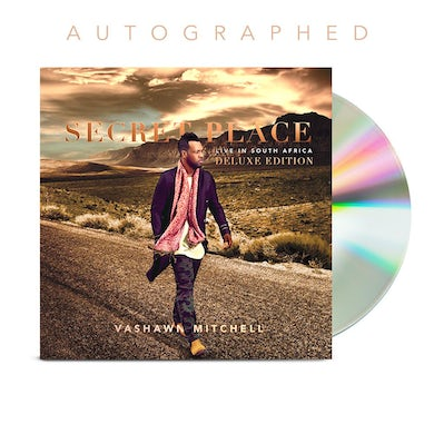 Vashawn Mitchell Autographed Deluxe CD