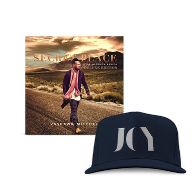 Vashawn Mitchell Deluxe Digital Album + Joy Snapback