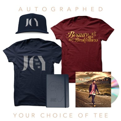 Vashawn Mitchell Autographed Deluxe CD Fanpack