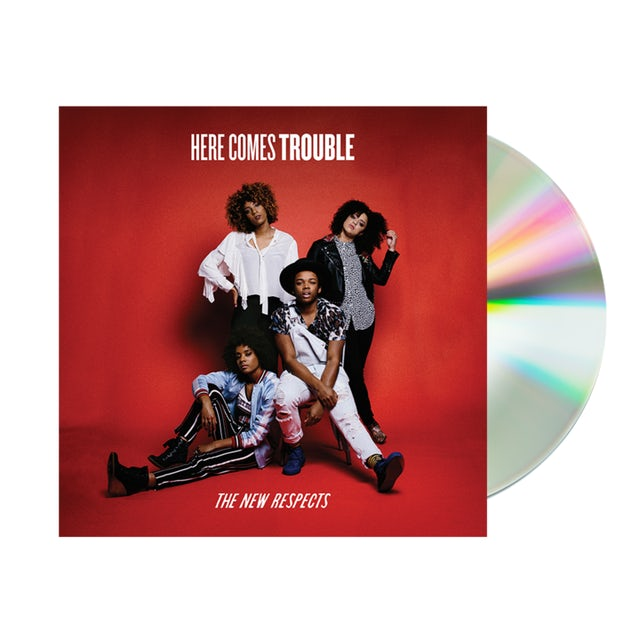 The New Respects Here Comes Trouble EP CD