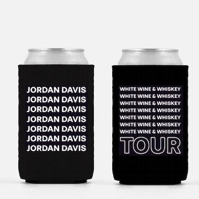 Jordan Davis White Wine & Whiskey Tour Koozie