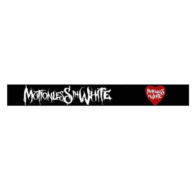 Motionless In White Splatter Heart Bracelet