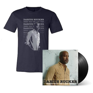 Darius Rucker When Was the Last Time Vinyl LP + Tee