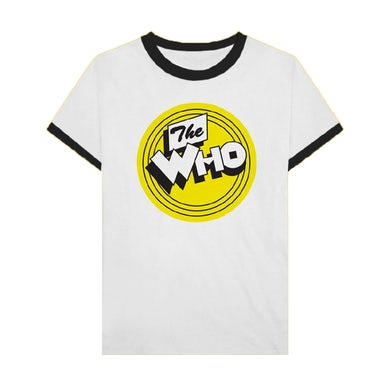 The Who Logo Ringer T-Shirt