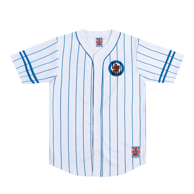 The Who Moving On Baseball Jersey