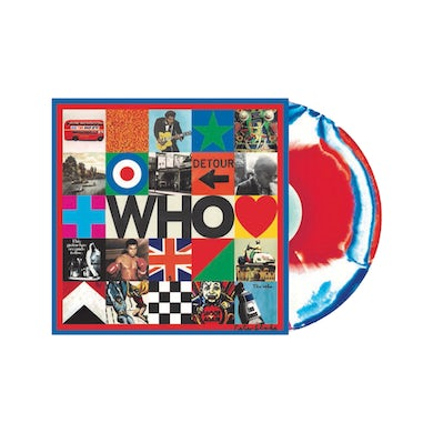 The Who Marbled LP (Vinyl)