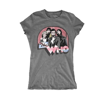 The Who Ladies Vintage T-Shirt