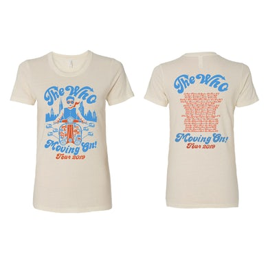 The Who Ladies Chris Hopewell T-Shirt