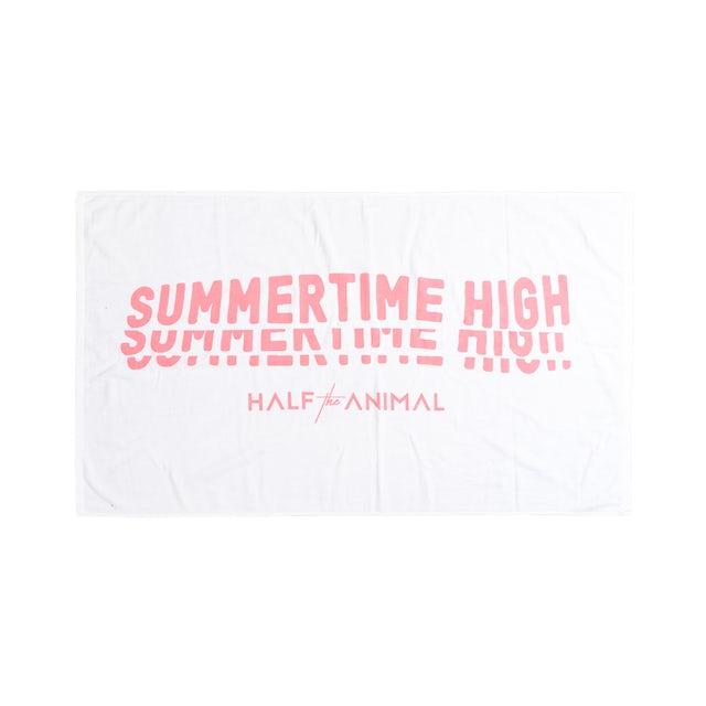 Half the Animal Summertime High Beach Towel