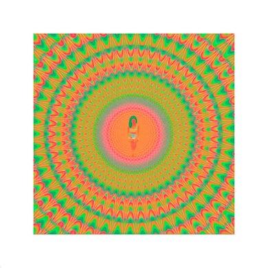 Jhené Aiko Glow In The Dark Rainbow Litho + Trip Digital Album