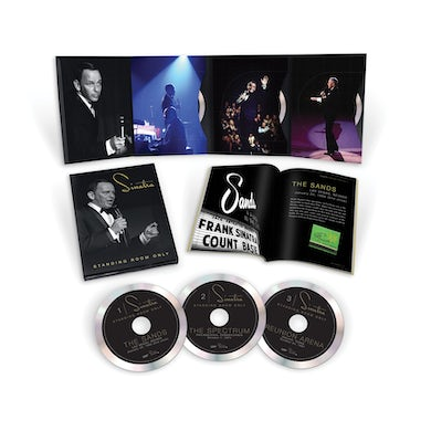 Frank Sinatra Standing Room Only 3CD Box
