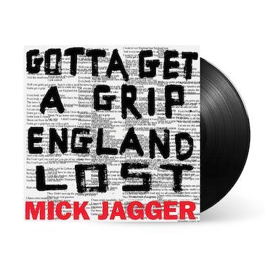 "Mick Jagger Gotta Get A Grip / England Lost 12"" Vinyl"