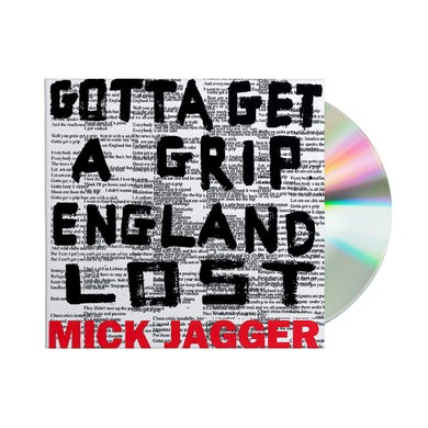Mick Jagger Gotta Get A Grip / England Lost CD Single