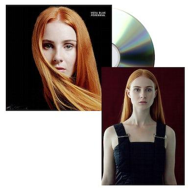Vera Blue Perennial CD + Art Card