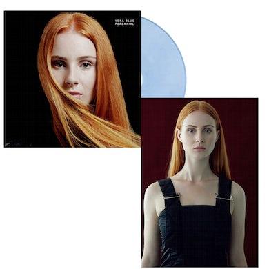 Vera Blue Perennial Vinyl + Art Card