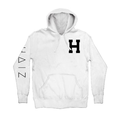 Hailee Steinfeld White Haiz Pullover Hoodie