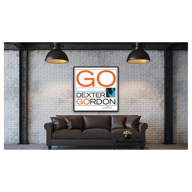 Dexter Gordon - Go Framed Canvas Wall Art