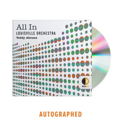 The Louisville Orchestra All In - Autographed CD Album