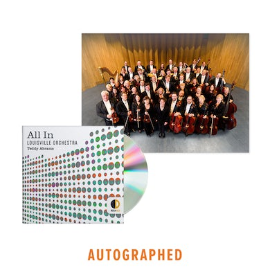 The Louisville Orchestra All In - Autographed CD + Signed Photograph