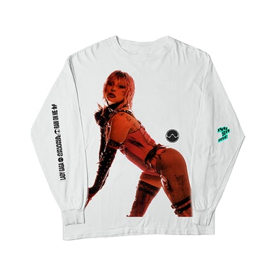 Lady Gaga RAIN ON ME L/S T-SHIRT