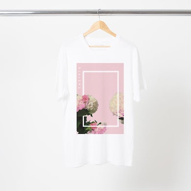 The 1975 PINK FLORAL T-SHIRT