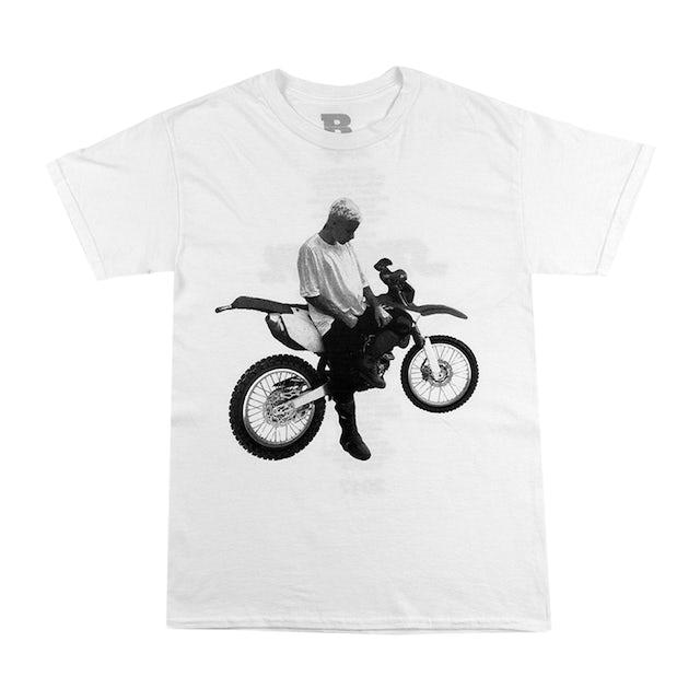 Justin Bieber Dirt Bike Short Sleeve T-shirt